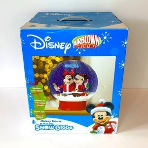 Disney inflatable snow globe